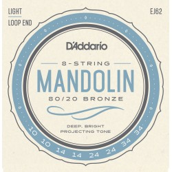 D'Addario EJ62 Mandoline Light