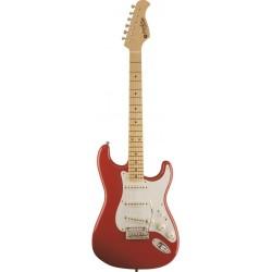 Prodipe Guitars ST80MA Fiesta Red