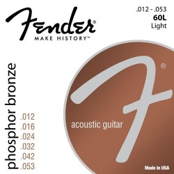 Fender 60L Phosphore Bronze 12-53