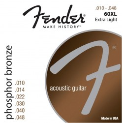 Fender 60XL Phosphore Bronze 10-48