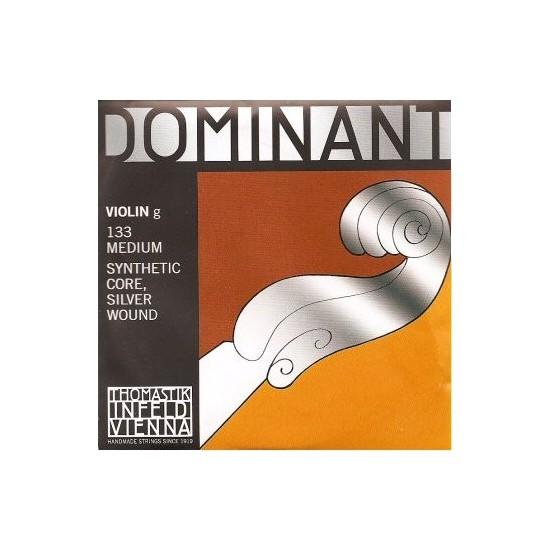 Thomastik 133 Dominant Corde de Sol pour Violon