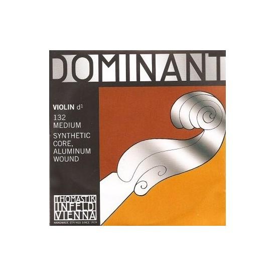 Thomastik 132 Dominant Corde de Ré pour Violon