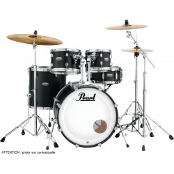 "Pearl Decade Maple Fusion 20"" Satin Slate Black"