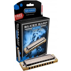 Hohner 532/20 D Blues Harp MS Harmonica Diatonique