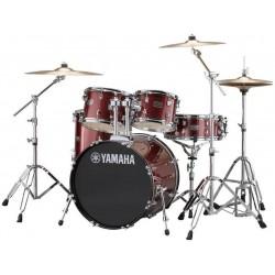Yamaha Rydeen Studio Burgundy Glitter + Cymbales