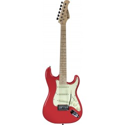 Prodipe Guitars STJUNIOR Fiesta Red
