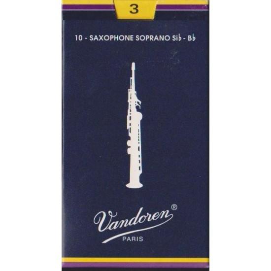 Vandoren SR203 Anches Saxo Soprano 3