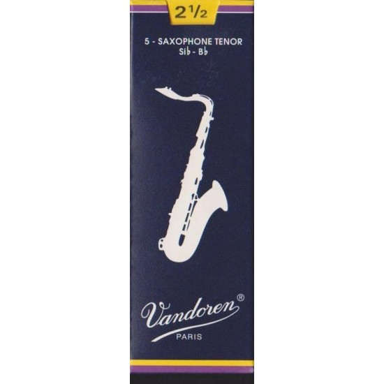 Vandoren SR2225 Anches Saxo Ténor 2.5