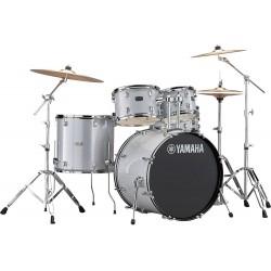 """Yamaha Rydeen 20"""" Silver Glitter + Cymbales"""