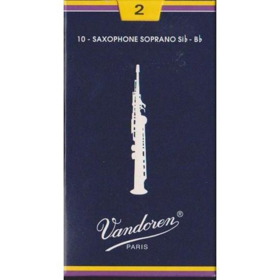 Vandoren SR202 Anches Saxo Soprano 2