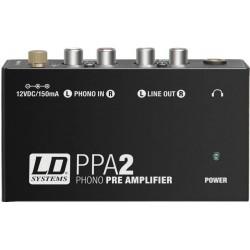 LD Systems PPA2 Préampli Phono