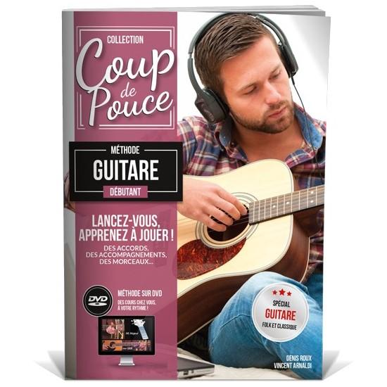 Coup de Pouce Débutant Guitare Avec DVD