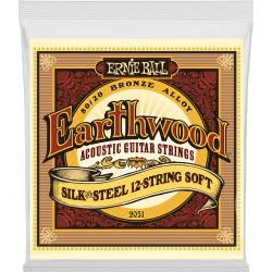 Ernie Ball Silk&Steel 12 cordes 9-46