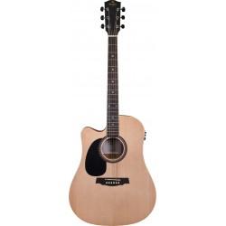 Prodipe Guitars SD25 CEQ Gaucher