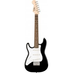Squier Mini Stratocaster Gaucher Black