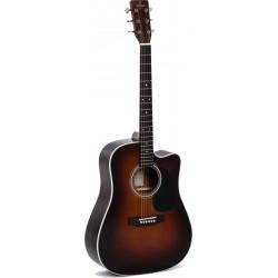 Sgma Guitars DTC-1STE-SB+