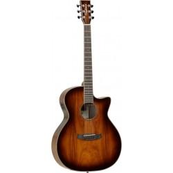 Tanglewood TW4 E Koa Violin Sunburst