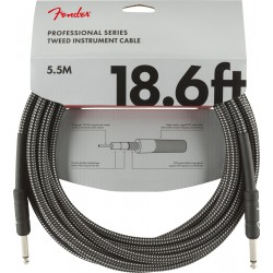 Professional Series Instrument Cable Grey Tweed