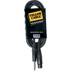 Yellow Cable M05J Jack/XLR Femelle 5M
