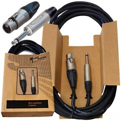 Music Leader NEUXJ20 Câble XLR/Jack 6M Neutrik