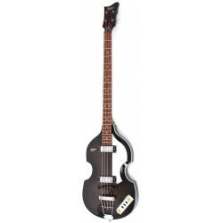 Hofner Violin Bass Ignition Transparent Black