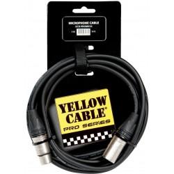 Yellow Cable PROM03X XLR/XLR Neutrik 3M