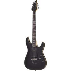 Schecter Demon 6 Aged Black Satin