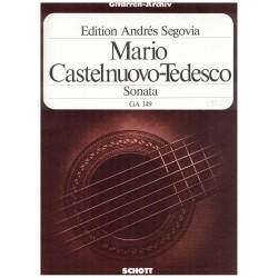 Castelnuovo-Tedesco Mario Sonata D Major