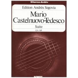 Castelnuovo-Tedesco Mario Suite D Minor
