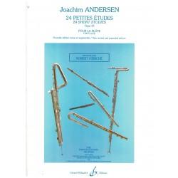 Joachim Andersen 24 Petites Études pour Flûte