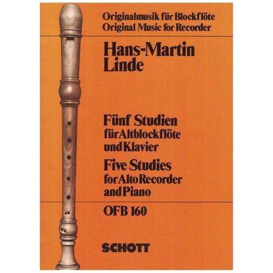 Hans-Martin Linde : 5 Études