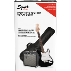 Squier Pack Affinity Series Stratocaster Black