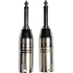 Yellow Cable AD25 Adaptateurs XLR/Jack
