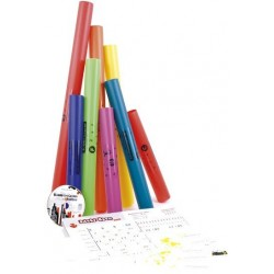 Pack de 8 Boomwhackers