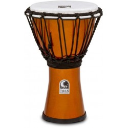 Toca TFCDJ-7MO Freestyle Colorsound Djembe Metallic Orange