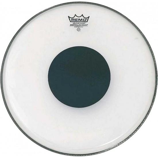 Remo CS-0313-10 Peau Controlled Sound Transparente 13 Pouces
