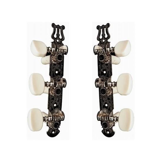Yellow Parts EZ1778N Mécaniques Guitare Nylon Lyre