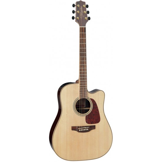 Takamine GD93CE Natural Dreadnought Cutaway Electro