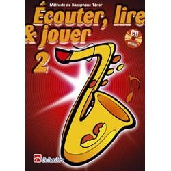 Ecouter, Lire, Jouer, Volume 2, Méthode de Saxophone Alto