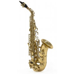 Friedrich Muller SP330C Saxophone Soprano Courbe