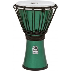 Toca TFCDJ-7MG Freestyle Colorsound Djembe Metallic Green