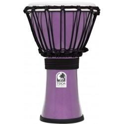 Toca TFCDJ-7MV Freestyle Colorsound Djembe Metallic Violet