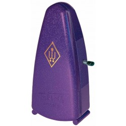 Wittner Taktell Piccolo Métronome Mécanique Magic Violet