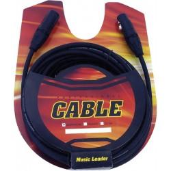 Music Leader LE103-75 Câble XLR/XLR 7,5 Mètres