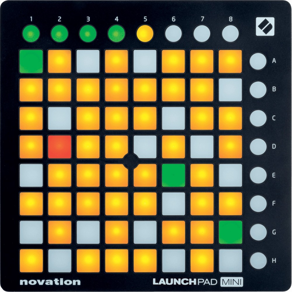 novation launchpad mini mk2 cgs musique chamb ry music leader annecy st genis music. Black Bedroom Furniture Sets. Home Design Ideas