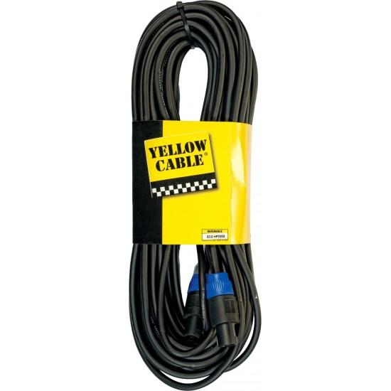 Yellow Cable HP20SS Câble Speaker Speakon 20M