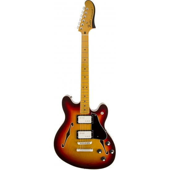 Fender Starcaster Modern Player Aged Cherry Burst