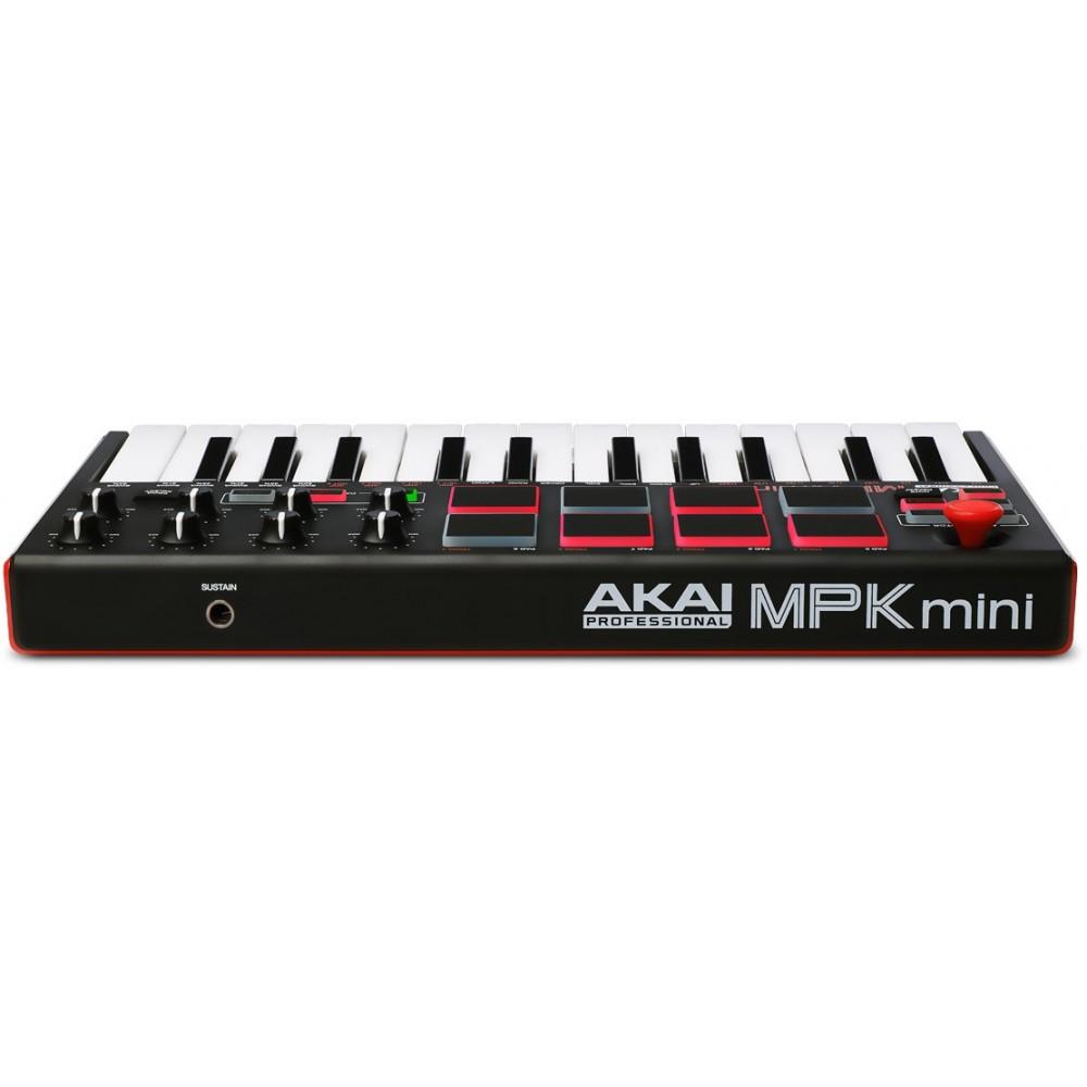 Akai Mpk Mini Mkii Clavier Midi Cgs Musique Chamb 233 Ry