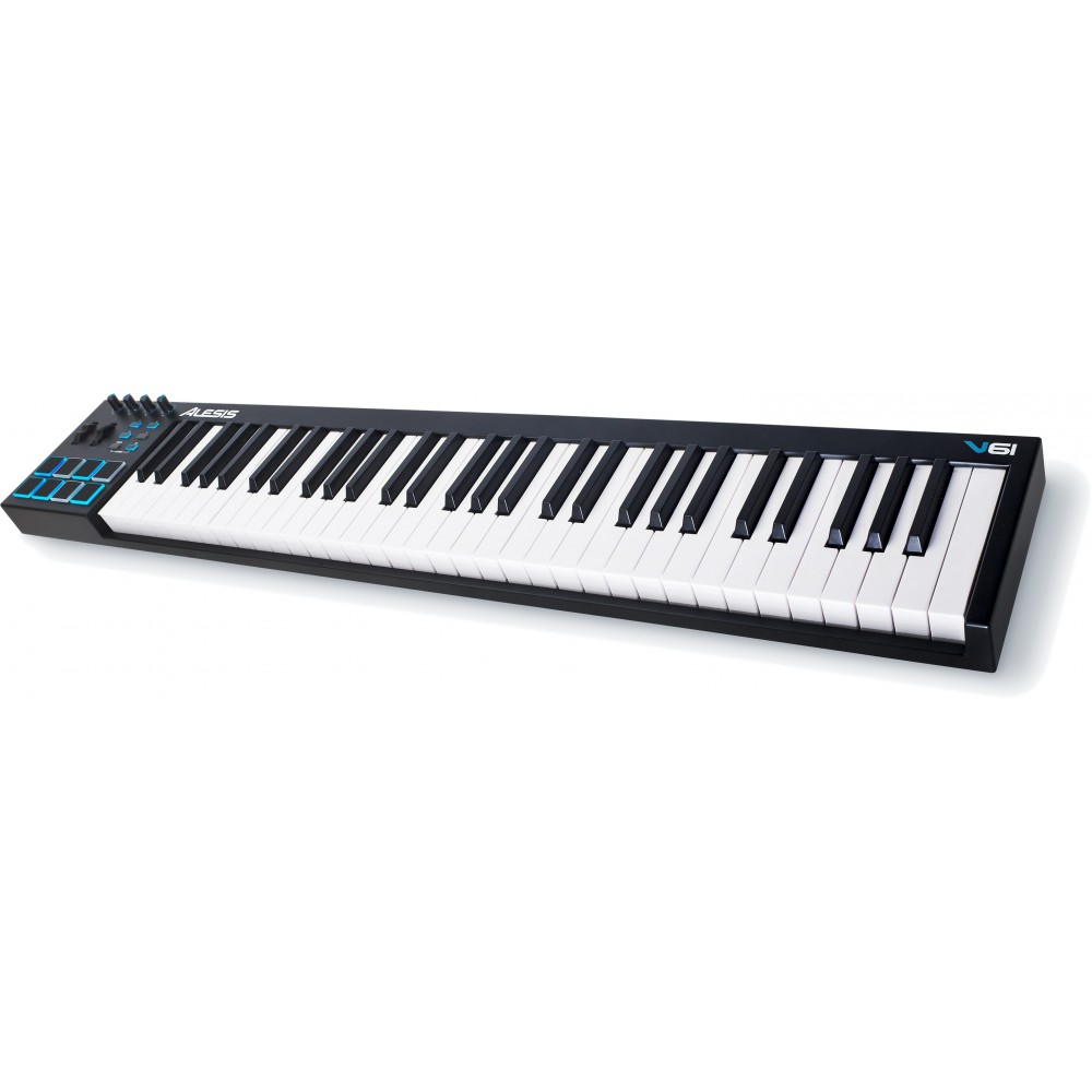 alesis v61 clavier maitre usb 61 touches cgs musique chamb ry music leader annecy st genis music. Black Bedroom Furniture Sets. Home Design Ideas