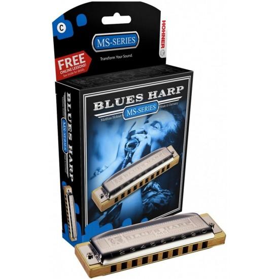 Hohner 532/20 E Blues Harp MS Harmonica Diatonique